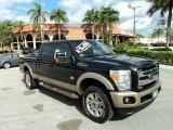 2012 Tuxedo Black Metallic Ford F250 Super Duty King Ranch Crew Cab 4x4 #88531772