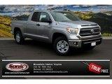 2014 Silver Sky Metallic Toyota Tundra SR5 Double Cab 4x4 #88531613