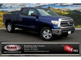 2014 Blue Ribbon Metallic Toyota Tundra SR5 Double Cab 4x4 #88531609