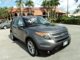 2013 Sterling Gray Metallic Ford Explorer Limited #88531766