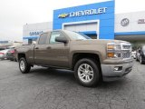 2014 Brownstone Metallic Chevrolet Silverado 1500 LT Double Cab #88532040