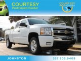 2009 Summit White Chevrolet Silverado 1500 LT Extended Cab #88531750