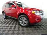 2009 Sangria Red Metallic Ford Escape Limited 4WD #88532126