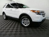 2013 Oxford White Ford Explorer XLT 4WD #88532123