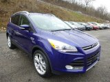 2014 Deep Impact Blue Ford Escape Titanium 2.0L EcoBoost 4WD #88576923