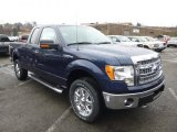 2014 Blue Jeans Ford F150 XLT SuperCab 4x4 #88576921