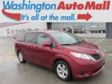2011 Salsa Red Pearl Toyota Sienna LE #88576913