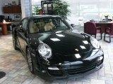 2008 Black Porsche 911 Turbo Coupe #87826