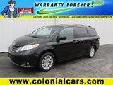 2011 Black Toyota Sienna XLE #88577341
