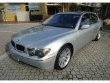 2003 Titanium Silver Metallic BMW 7 Series 745Li Sedan #88577087