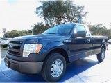 2014 Blue Jeans Ford F150 XL Regular Cab #88576869