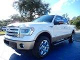2014 White Platinum Ford F150 Lariat SuperCrew 4x4 #88576865
