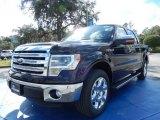 2014 Kodiak Brown Ford F150 Lariat SuperCrew #88576862