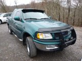 Pacific Green Metallic Ford F150 in 1997