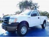 2014 Oxford White Ford F150 XL Regular Cab 4x4 #88576851