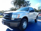 2014 Ingot Silver Ford F150 XL Regular Cab #88576846