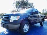2014 Blue Jeans Ford F150 XL Regular Cab #88576844