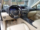 2013 Lexus RX 350 AWD Parchment/Espresso Birds Eye Maple Interior