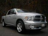 2009 Bright Silver Metallic Dodge Ram 1500 Big Horn Edition Crew Cab #88577286
