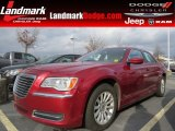 2012 Deep Cherry Red Crystal Pearl Chrysler 300  #88576946
