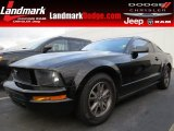 2005 Black Ford Mustang V6 Deluxe Coupe #88576942