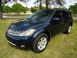Midnight Blue Pearl Nissan Murano in 2006