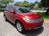 2006 Sunset Red Pearl Metallic Nissan Murano SL #88577036