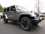 2014 Jeep Wrangler Unlimited Billet Silver Metallic