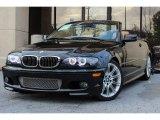 2005 Jet Black BMW 3 Series 330i Convertible #88636800