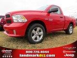 2014 Flame Red Ram 1500 Express Regular Cab #88636744