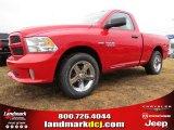 2014 Flame Red Ram 1500 Express Regular Cab #88636741