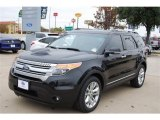 2014 Tuxedo Black Ford Explorer XLT #88636655