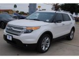 2014 White Platinum Ford Explorer XLT #88636654