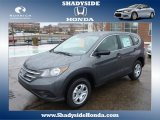 2014 Polished Metal Metallic Honda CR-V LX AWD #88636698