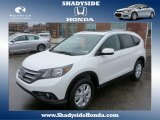 2014 White Diamond Pearl Honda CR-V EX-L AWD #88636696