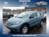 2014 Mountain Air Metallic Honda CR-V LX AWD #88636695