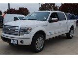 2014 White Platinum Ford F150 Platinum SuperCrew 4x4 #88636650