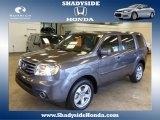 2014 Modern Steel Metallic Honda Pilot EX 4WD #88636693