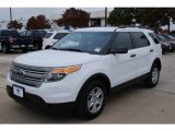 2013 Oxford White Ford Explorer FWD #88636642