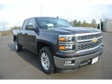 2014 Tungsten Metallic Chevrolet Silverado 1500 LT Double Cab #88636914