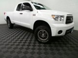 2010 Super White Toyota Tundra TRD Rock Warrior Double Cab 4x4 #88636870