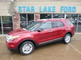 2014 Ruby Red Ford Explorer XLT 4WD #88667128