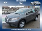 2014 Polished Metal Metallic Honda CR-V LX AWD #88666944