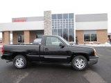 2003 Black Chevrolet Silverado 1500 LS Regular Cab #88667124