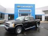 2009 Black Chevrolet Silverado 1500 LS Crew Cab #88666987