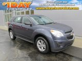 2014 Atlantis Blue Metallic Chevrolet Equinox LS AWD #88666897