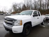 Summit White Chevrolet Silverado 1500 in 2008