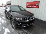 2014 Brilliant Black Crystal Pearl Jeep Grand Cherokee Limited 4x4 #88667203