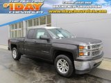 2014 Tungsten Metallic Chevrolet Silverado 1500 LT Double Cab 4x4 #88666888