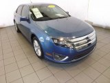 2010 Sport Blue Metallic Ford Fusion SEL V6 #88666881